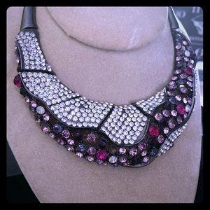 Jewelry - Rhinestone choker necklace
